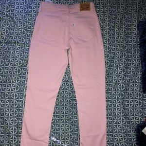 Levi's Pink tight jeans
